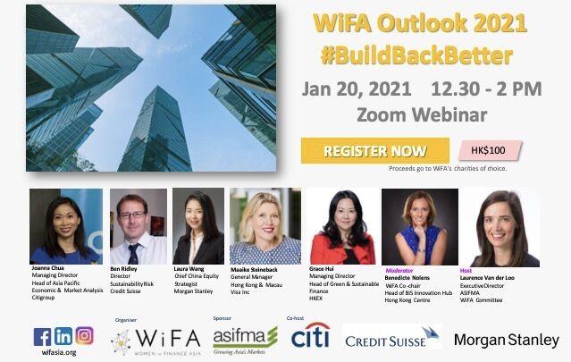 WiFA 2021 Annual Outlook #BuildBackBetter